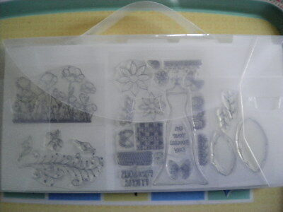 A Folder full of Clear Stamps