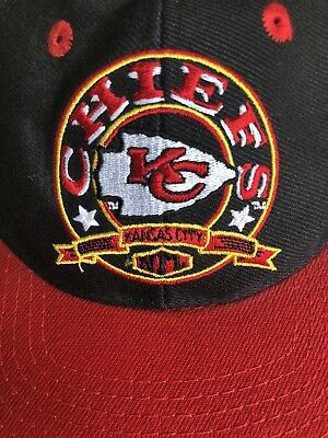 19c6a4994a1 Kansas City Chiefs NFL Vintage 90s Snapback Hat New With Tags Free USA 🇺🇸  Ship