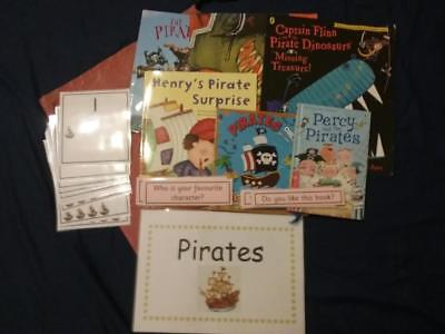 Pirates- The Pirate Cruncher by Jonny Duddle, Story, Resources, Books & Sack
