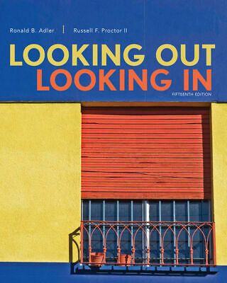 Looking Out Looking In 15th edition by Ronald Brian Adler E BOOK [PDF/ePUB/MOBI]