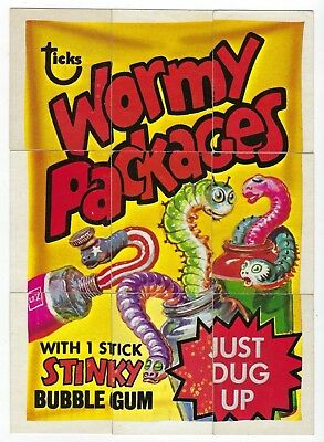 1973 O-Pee-Chee Wacky Packages OPC 4th Series 4 COMPLETE CHECKLIST PUZZLE 9/9