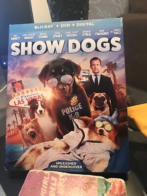 NEW Show Dogs (Blu Ray + DVD + Digital) 2018, SEALED FREE SHIPPING