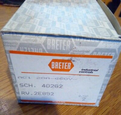 Breter 5 Position Industrial Switch Generator 20A