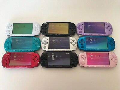 Refurbished Sony PSP 3000 Playstation Portable Console Bundle*Choose YOUR COLOUR