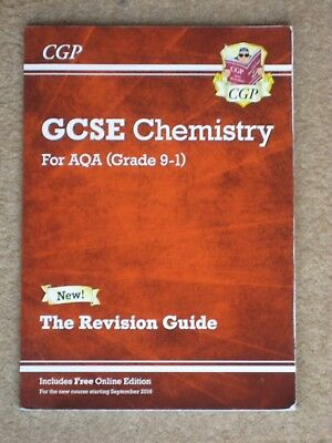 New Grade 9-1 GCSE Chemistry: AQA Revision Guide with Online Edition by CGP Book