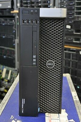DELL T5600 2x E5-2620 2.00Ghz 6-Core XEON 64GB RAM 2TB SATA HD Quadro 4000 Win10