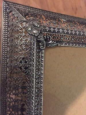 Antique Silver Frame Picture Frame