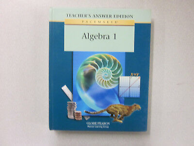 Pacemaker ALGEBRA 1 Teacher's Answer Edition textbook Globe Fearon 0130236306