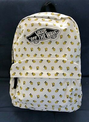 09b70718f3 NEW VANS X Peanuts Realm Backpack School Book Bag Woodstock VN0A3AOWO45  FREESHIP