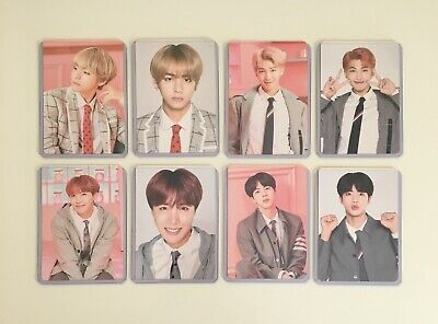 BTS 4th Muster Happy Ever After Official Mini Photocard - Choose Member