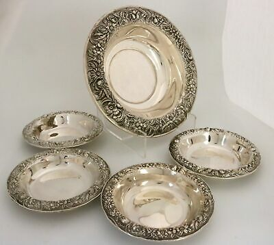 S. Kirk & Son Repousse Sterling Silver Bowls