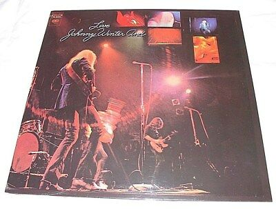 "JOHNNY WINTER ""LIVE JOHNNY WINTER AND"" SEALED LP PC 30475 2nd PRESS NO BAR CODE"