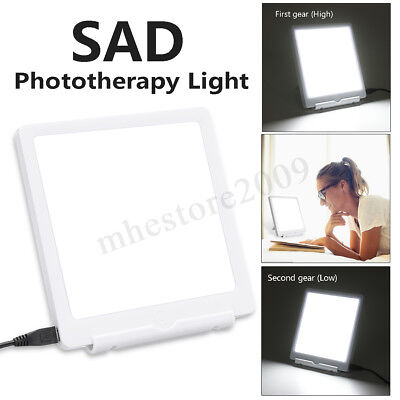 SAD Therapy Light 2 Modes Seasonal Affective Disorder Phototherapy Lamp 10000LUX