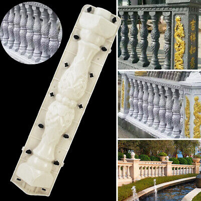 Mould Balustrades Mold For Concrete Plaster Cement Casting Garden Patio Baluster