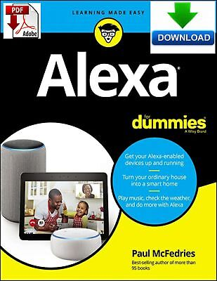 Alexa For Dummies - Read on PC, Phone or Tablet  - Fast PDF DOWNLOAD