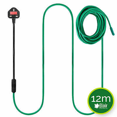 Soil Warming / Heating Cable 12m 80W Heated Bed Propagator Greenhouse