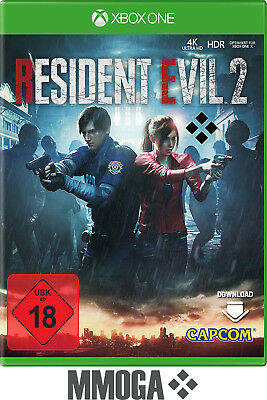 Xbox One - Resident Evil 2 Key - Microsoft Download Code Action NEU - EU/DE