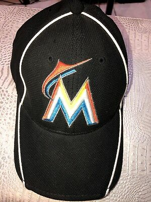 091cd8d0eff ... closeout mlb miami marlins new era authentic field 59fifty cap hat  florida small medium 733e3 7d88e