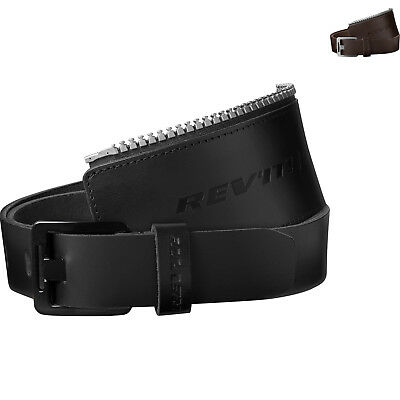 Rev It Safeway 30 Motorcycle Belt Motorbike Buffalo Leather Connection Zipper