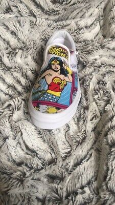 87e634668db5 VANS WONDER WOMAN Shoes Superheroes Comics Licensed Sneakers Womens ...