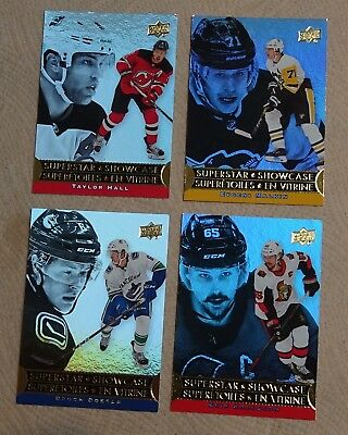 2018~19 UD Tim Horton`s Superstar Showcase ~ lot of 5 cards ~ NM/MT