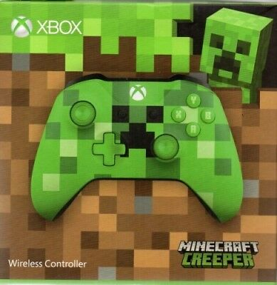 Xbox Wireless Controller - Minecraft Green Limited Edition  - Neu / OVP