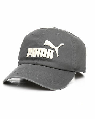 Puma Evercat Baseball Cap Strapback Hat Embroidered Adjustable Headwear Grey 7c09aff12fef