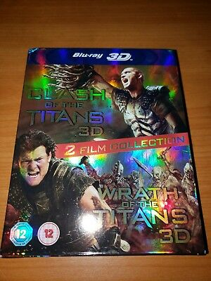 Clash of the Titans/Wrath of the Titans (Blu-ray Disc, 3D and blu ray)