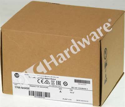 New Sealed Allen Bradley 1768-M04SE /A 2017 CompactLogix 4 Axis Sercos Interface