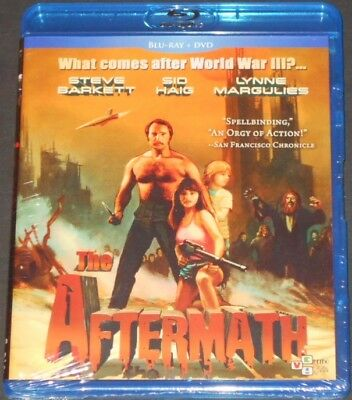 THE AFTERMATH usa blu-ray + dvd NEW SEALED steve barkett LYNNE MARGULIES 2018