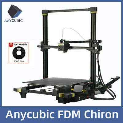Anycubic Chiron 3D Printer Auto-Leveling Dual Z-Axis 400*400*450mm TPU ABS PLA