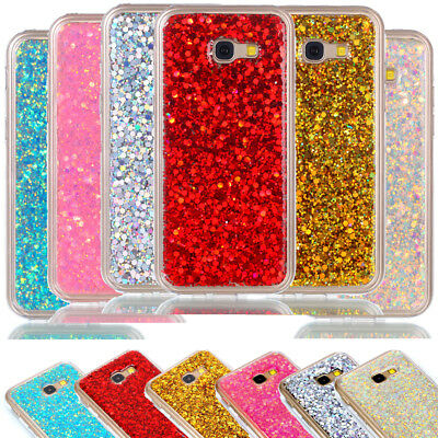 Bling Glitter Soft Phone Case Cover Protector Skin for Samsung Galaxy A5 2017