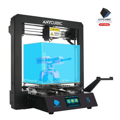 Anycubic i3 Mega 3D Printer Upgraded Full Metal with Patented Heated Bed UK Plug