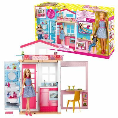 2-Story House | Barbie | Mattel DVV48 | with Doll, Furniture & Accessories