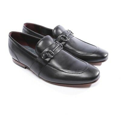 a62d9c2cc095 Ted Baker Mocassins Taille D 44 Noir Hommes Chaussures Plates Neuf