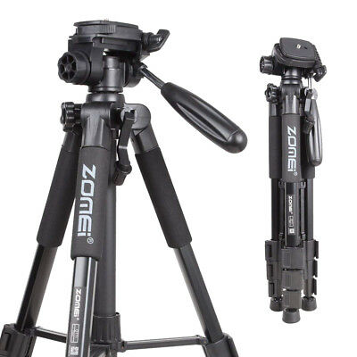 Q111 Aluminium Tripod Heavy Duty Travel PanHead Flexible For DSLR SLR SonyCamera