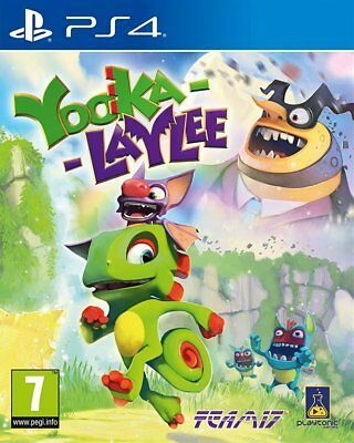 Yooka-Laylee (PS4)  BRAND NEW AND SEALED - IN STOCK - QUICK DISPATCH