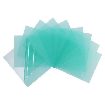 Welding Mask Clear Replacement Protective Lens Lenses 10 pack 110mm x 90mm