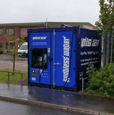 Water Fed Pole, Window Cleaning, Pure Water Filling Station - Cardiff