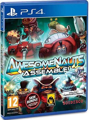 Awesomenauts Assemble (PS4)  BRAND NEW AND SEALED - IN STOCK - QUICK DISPATCH