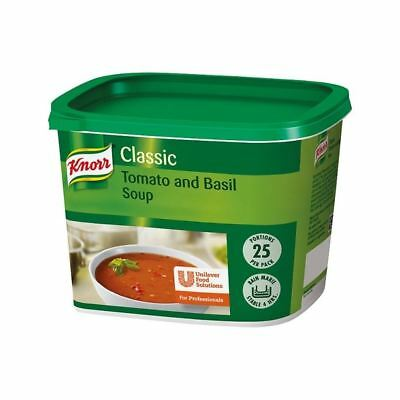 Knorr Classic Tomato & Basil Soup 25 Portions Pack of 6