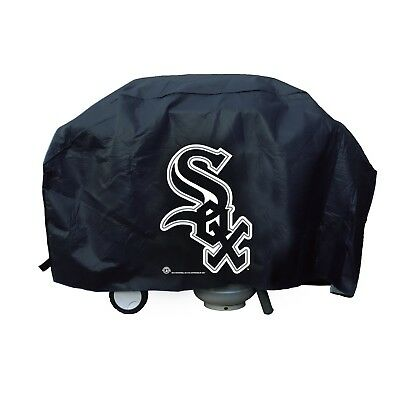 Chicago White Sox Vinyl Barbecue Grill Cover Large Universal Fit Baseball