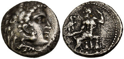 FORVM VF Barbaric Alexander the Great Tetradrachm Uncertain Tribe 3rd-2nd Cent