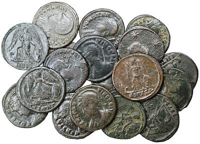 FORVM 20 Roman Empire City of Constantinople Commemoratives