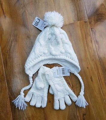 MOTHERCARE GIRLS KNITTED Hat Set Age 3-6 Years. BRAND NEW. - £3.99 ... 77a16abe9752