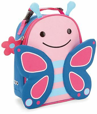 Skip Hop ZOO LUNCHIE INSULATED LUNCH BAG - BUTTERFLY  Kids Lunch Bags - BN