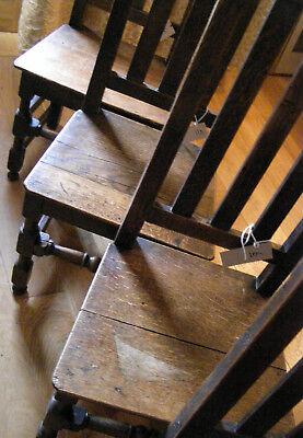 Antique  Chairs | Oak | Georgian  |Great  Provenance