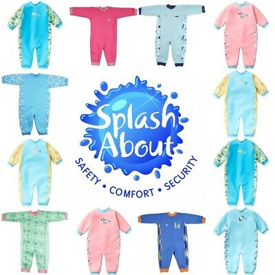 Splash About Warm In One Baby Wetsuit Happy Nappy Swim Costume