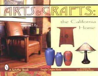Arts & Crafts Style California Home Book Vintage Design