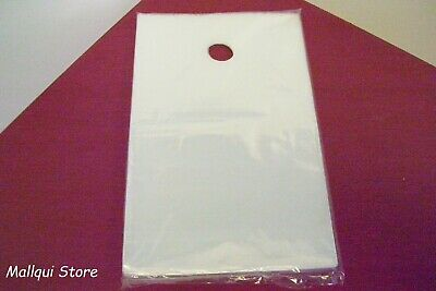 100 CLEAR 12 x 14 DOOR KNOB HANGER POLY BAGS FOR FLYERS ULINE BEST 1.5 MIL